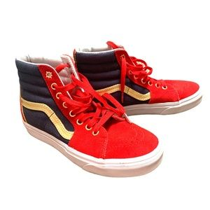 Vans Sk8Hi Marvel Captain Marvel Sneakers/Shoes